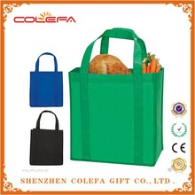 Wholesale Promotional Reusable Non Woven Shopping Grocery Bag Foldable Shopping Bag