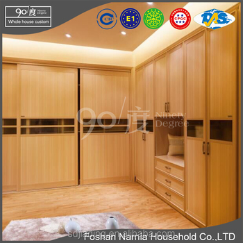 high quality cheap wood bedroom furniture plywood almirah design