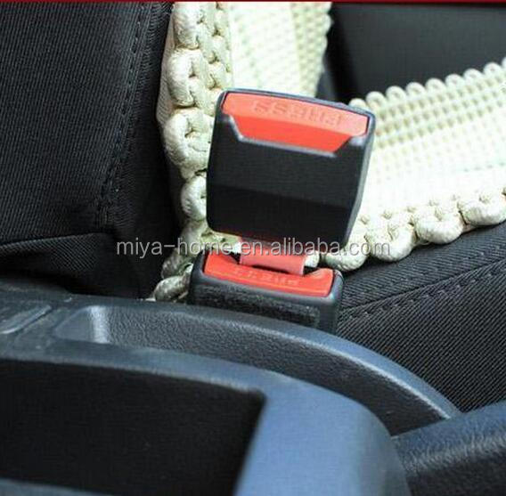 Wholesale Universal Black Car Safety Seat plastic seat belt buckle / Car Seat Belt Clip Buckle / Car Seat Belt Clip