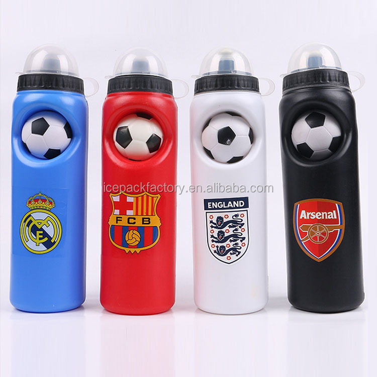 wholesale plastic HDPE water bottle with dust cover in stock