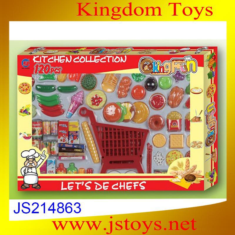 hot toys play food set for kids made in china