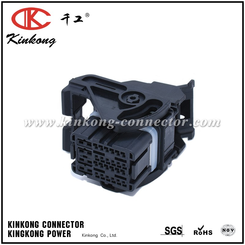 Female 32 pin waterproof automotive FCI car connector