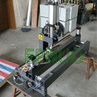 PVC/PU belt finger punch machine before jointing