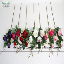 SJNR30 New product for wedding , silk artificial flowers rose