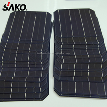 5BB monocrystalline solar cell 4.9W-5.1W 156x156 for photovoltaic solar energy products