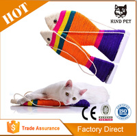 Colorful Sisal Fish Shape Hanging Scratcher Cat Toy