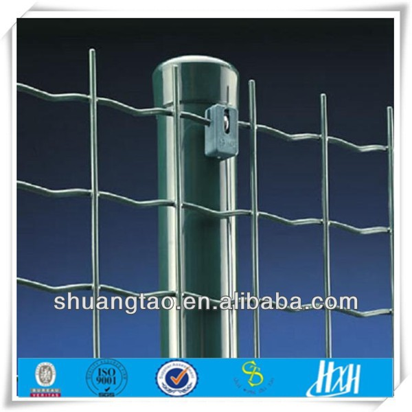 China supplier pvc coated holland wire mesh chain link fence