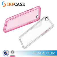 Transparent Clear Soft TPU Silicon Phone Case for Apple iPhone 6 6S 6Plus Back Cover+Shockproof Cushion Accessories