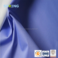Made in China fabric wholesale taffeta waterproof fabric with pu coating for bag lining tent use