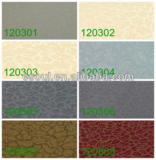 2013 warm and sweet pvc wallpaper used in home decoration and engineering decoration