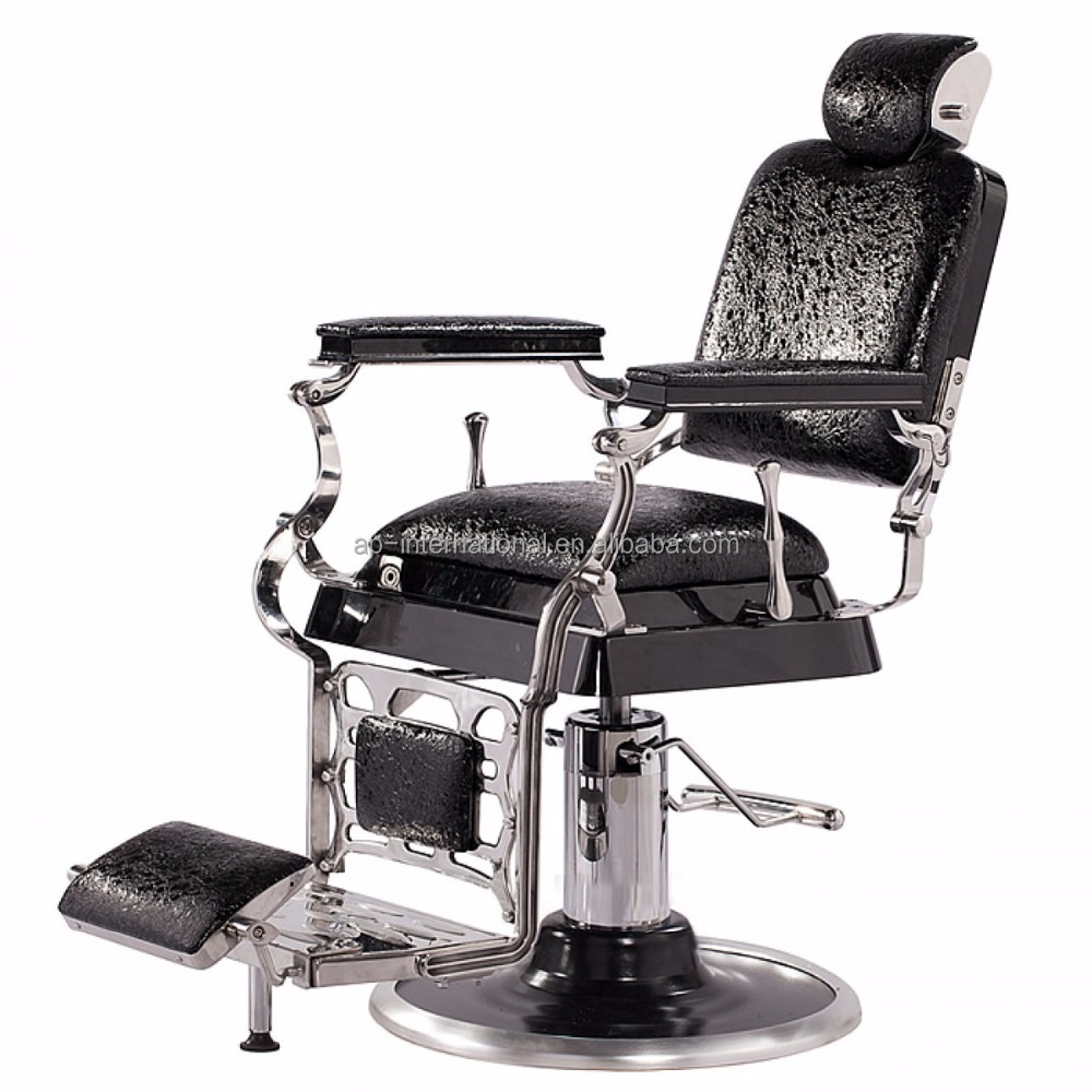 "Professional quality hot sale beauty salon equipment ""EMPEROR"" antique barber chair dubai"