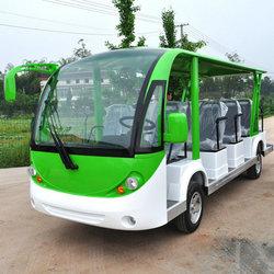 DISING Driving Range 100KM Electric Mini Bus with 14 Seats for Minibus