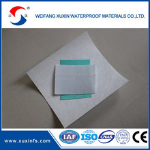 Green color polyester felt for basement waterproofing