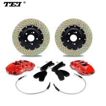 TEI P60 Dirlled disc Lexus lx570 rx300 is250 NX red united sport racing caliper brake
