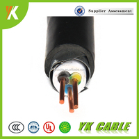 Armoured cable xlpe specifications zr-yjv22 0.6 1kv 2.5mm 3 core solid copper electrical wire