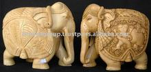 Indian wood sculptures carved wood onlays