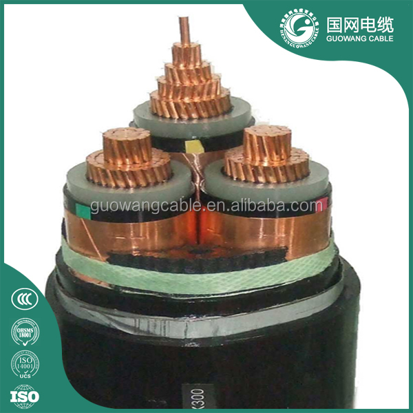 MV Xlpe Insulated Power Cables 4 Core 95mm 5 Core 630mm2 Aluminium Armoured Cable Size 6mm Armoured Cable 100m