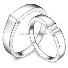 No Tarnish Male And Female Wedding Ring