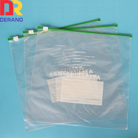 slider bags zipper bags ldpe packaging bag