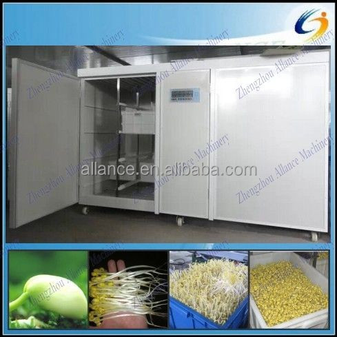 Bean sprouts factory for growing mung bean sprouts and shoots