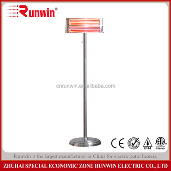 Electric wall mounted bathroom heat lamp