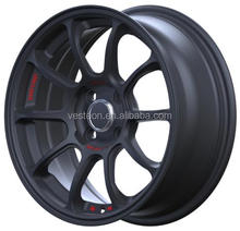 Alloy wheels from china with certificates TUV, DOT, CE, VIA, JWL