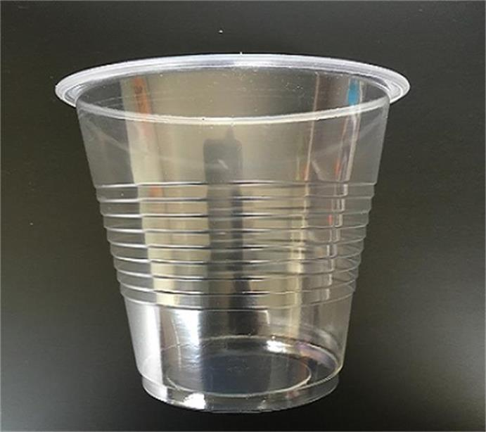 custom colored 7oz disposable PS plastic cup transparent cup (C-004)