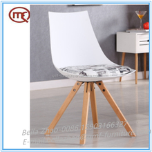 Popular comfortable plastic PP and metal dining chair