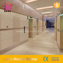 High Quality natural stone beige color marble design crema marfil