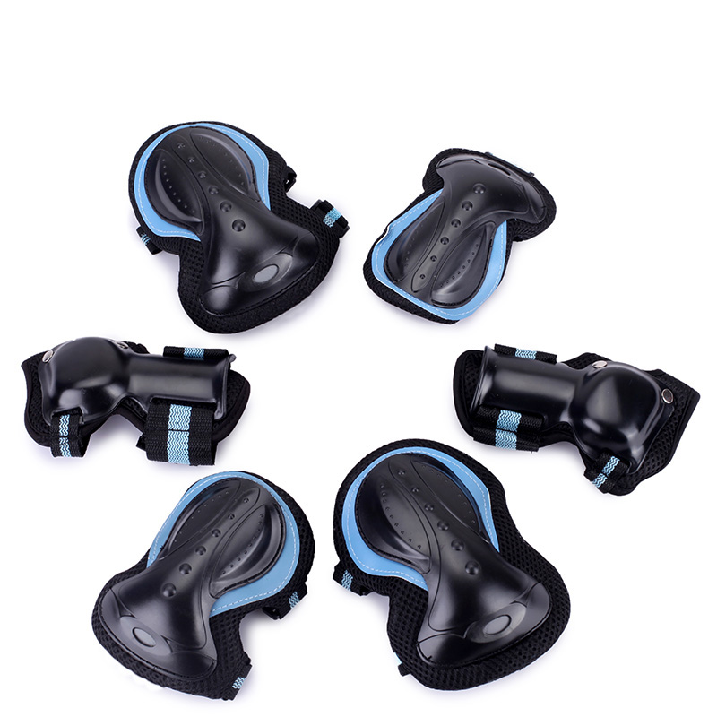 Adult Children Roller Skating BMX Biking Wrist Guards Resistant Protective Gear Knee and Elbow Pads
