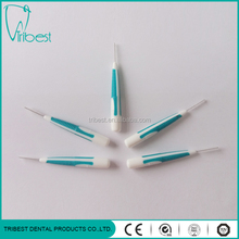dental disposable interdental brush with orthodontic use