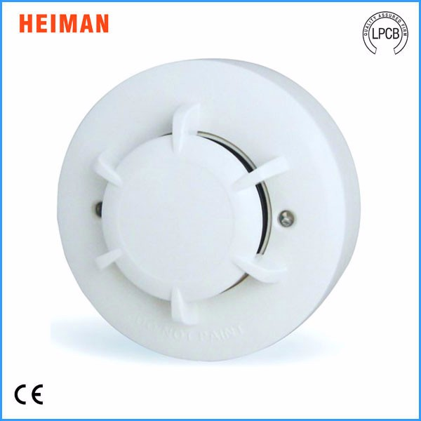 2016 HEIMAN CE approval DC10-30V 2 wire conventional fire alarm insect proof smoke detector