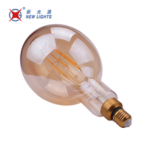 Newest lighting Special huge lamp 4w 6w 8w G200 TT180 3.5K vintage retro led filament bulb light