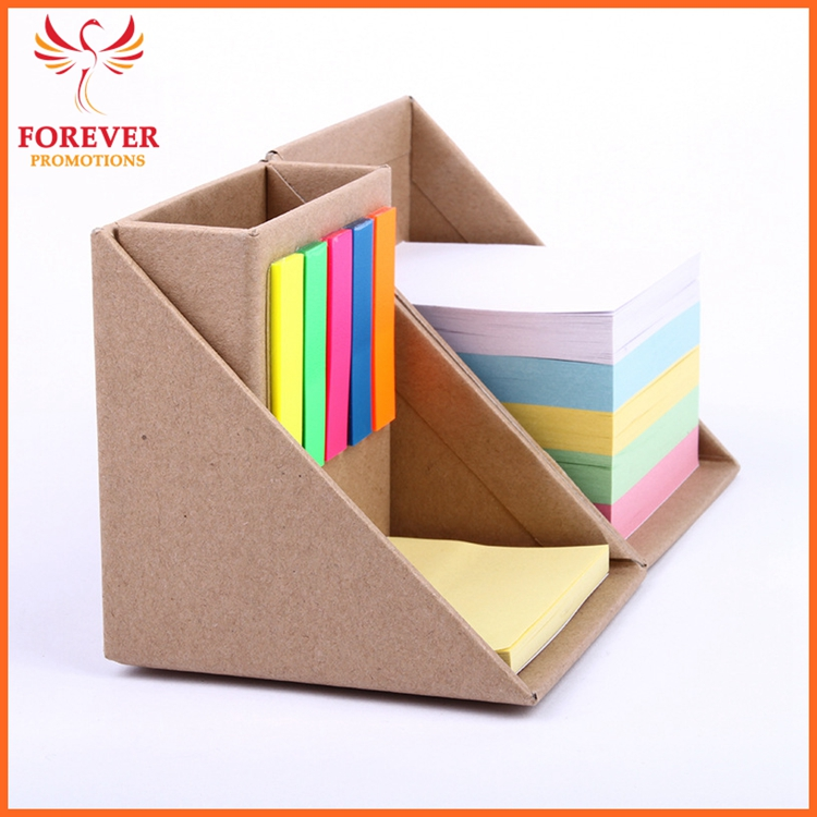 New Design Eco Sticky Notes 500 Sheets Sticky Notes Flags With Pen Cup Note Cube