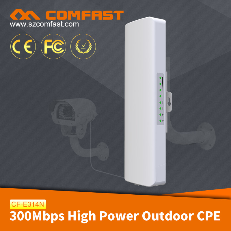 COMFAST CF-314N High Power Outdoor CPE Hot Sale Outdoor Wireless Bridge
