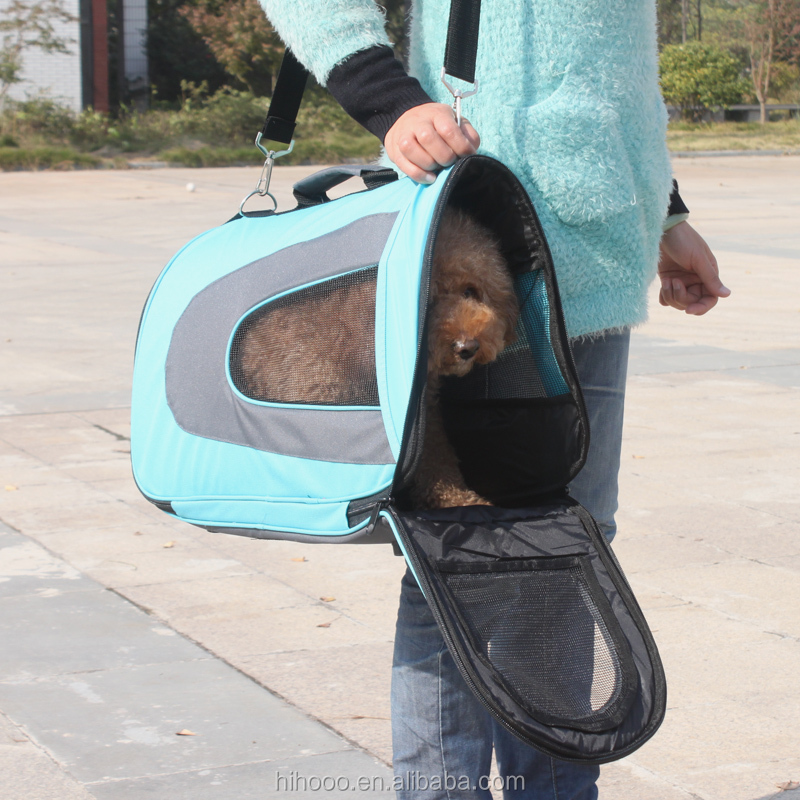 2015 Foldable Lightweight Soft Dog Pet Carrier Bag