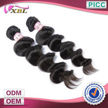 XBL Remy Human Hair Wholesale 6A 100% Unprocessed Indian Hair Loose Wave