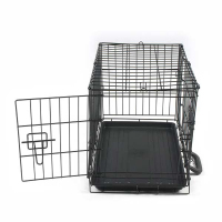 "19""*12""*14"" Folding Welded Wire Mesh Dog Cage"