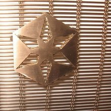 brass wire mesh for decoration