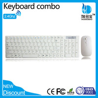 VWT-02 2.4G Wireless Slim Multimedia Keyboard and Mouse Combo
