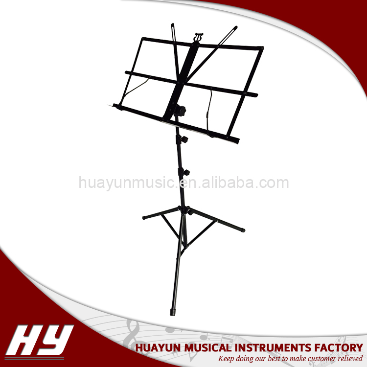 Foreign musical instrument metal book stand