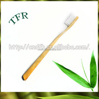 OEM whitening-teeth bamboo child hotel disposable toothbrush kit