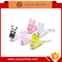 creative lovely cartoon nail clipper cute animal nail clipper tools