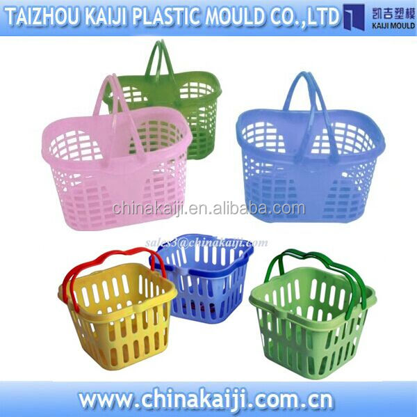 Huang yan plastic storage basket mold manufacturers low price
