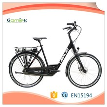 2017 250w 36v high quality electric bicycle/city commuter e-bike/cheap ebike china suppiler
