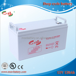AGM deep cycle Lead Acid Battery UPS Backup Battery 12V 120AH