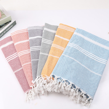 Customized cotton Striped turkish <strong>towel</strong> ,beach <strong>towel</strong> portugal,large square Bath <strong>Towel</strong> with Tassels Travel