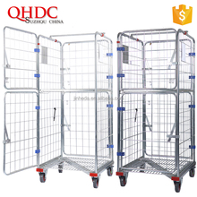 heavy load trolley roll container for warehouse