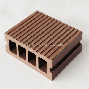 extruded engineered material Co-extrusion Technology Wood & Plastic Composite Outdoor Decking