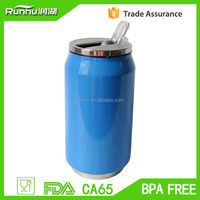 HOT double wall stainless steel vacuum coca can, 330ml can coca, 330ml can cola